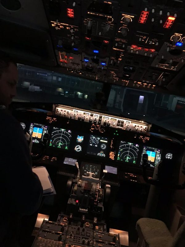 Night Flying Experience in our 737NG Simulator.