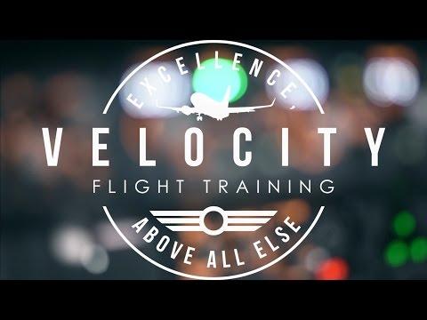 Velocity Flight Training Gloucester Logo