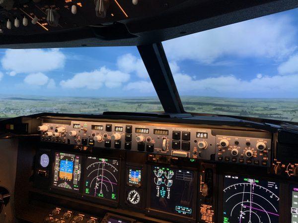 Training Flight in our Boeing 737 Simulator